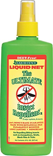 Liquid Fence HG-70140 Net Ultimate Insect Repellent Pump Spray, 8-Ounce - Liquid Net Insect Repellent