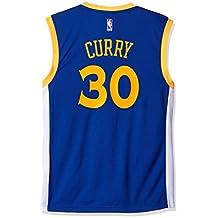 Stephen Curry Golden State Warriors Adidas Revolution Replica Jersey - Blue