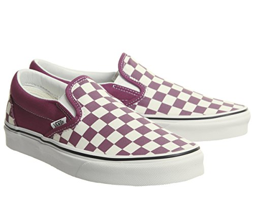 Rose white Unisex checkerboard Zapatillas Dry Deporte Vans U De Authentic xZ84waTq
