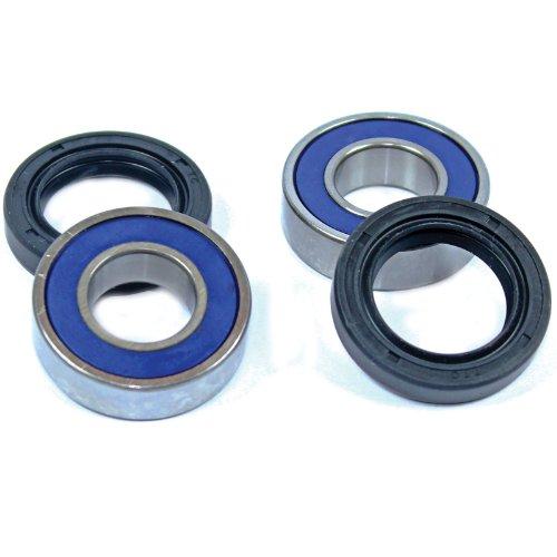 (Caltric Front Wheel BALL BEARINGS & SEALS KIT Fits HONDA TRX125 TRX-125 FOURTRAX 125 1985 1986 1987 1988)