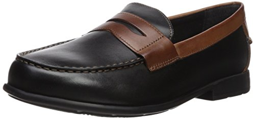 el Loafer, Black/Brown, 11 Medium US ()