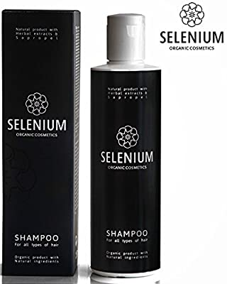 Shampoo by Selenium - Natural Organic shampoo with a Minerals Protein Vitamin Enzymes Herbal & Sapropel Extract Shampoo Anti Dandruff Soft Dry Itchy Scalp Psoriasis and Damaged Hair/8,5oz | Learning Toys
