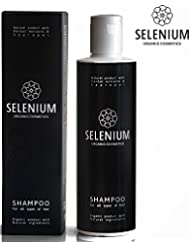 Shampoo by Selenium - Natural Organic shampoo with a Minerals Protein Vitamin Enzymes Herbal & Sapropel Extract Shampoo Anti Dandruff Soft Dry Itchy Scalp Psoriasis and Damaged Hair/8,5oz