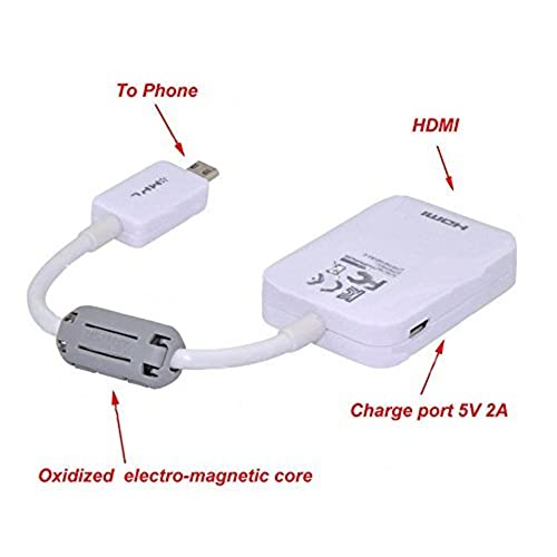 Micro USB MHL 2 0 To HDMI HDTV Adapter Cable For Samsung