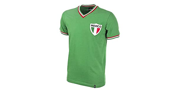 COPA Football - Camiseta Retro México años 1980  Amazon.es  Deportes y aire 70f3dcfb9764f