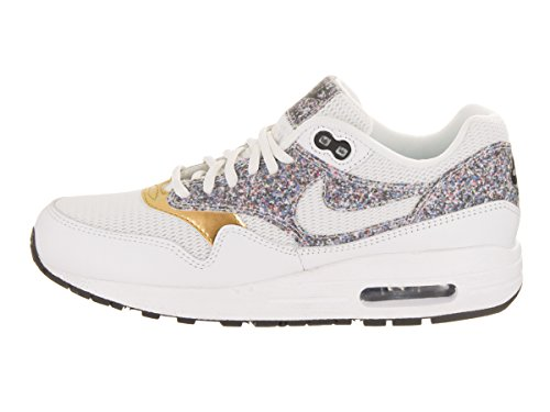 Nike Womens Air Max 1 Se Scarpa Casual Bianco / Bianco-nero