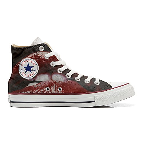 produit Coutume Chaussures artisanal Customized Converse Lips 1qfWF71n6