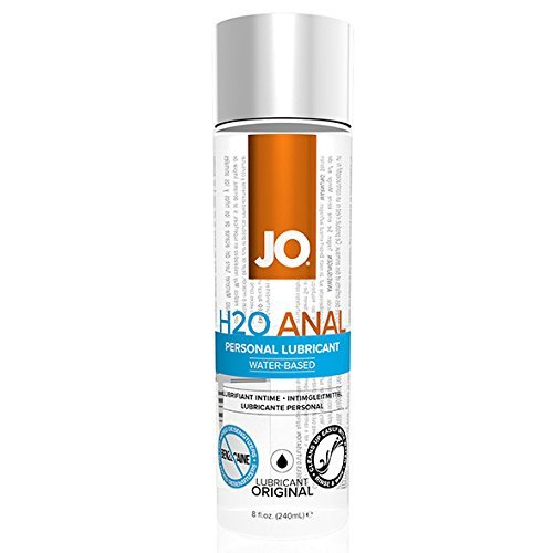 System Jo - Anal H2o Lubricant 240 Ml Thicker High Viscosity Formula 100% Latex Safe by System Jo