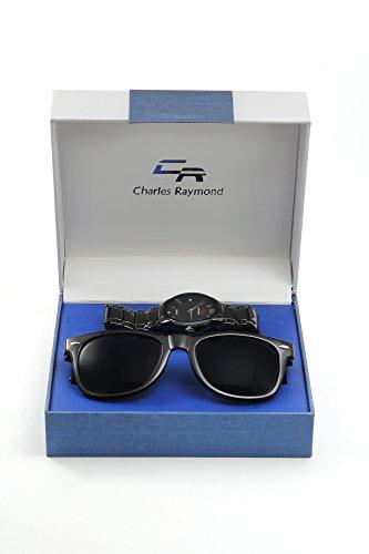 Men Sunglass & Watch Gift Set