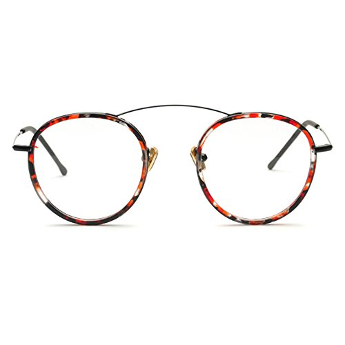 TIJN Retro in Chic Metal Eyeglasses Frame Flex Arm Glasses Small Size