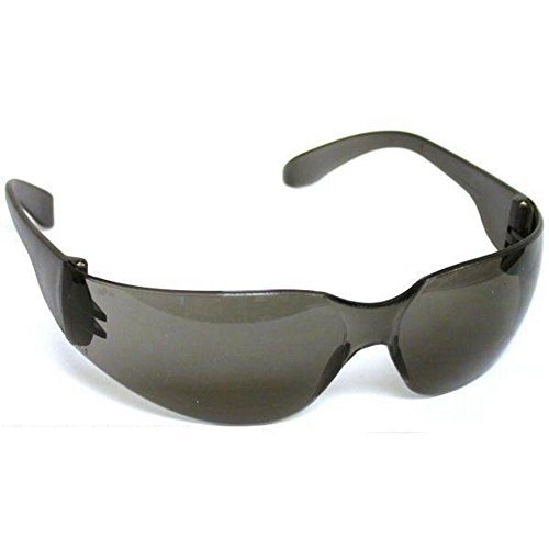 Safety Glasses Mirage USA Smoke Frame and Lens, Order of 12