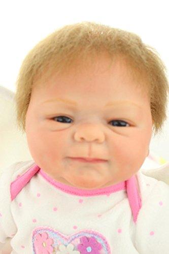 Npk Collection Reborn Baby Doll Vinyl Silicone 18 Inch 45