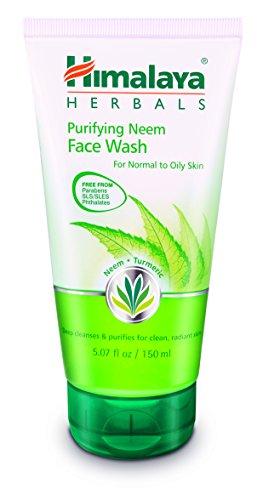 Himalaya Purifying Neem Face Wash for Mild Acne 5.07 Oz/150 ml