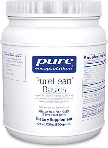 Pure Encapsulations – PureLean Basics – Vegetarian Protein for Healthy Weight Management** – 500 Grams For Sale