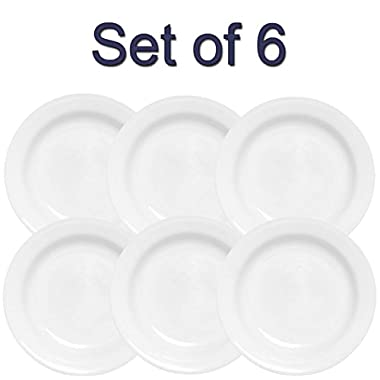 Corelle Livingware 15-Ounce Rimmed Soup/Salad Bowl, Winter Frost White (6)