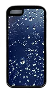 TYH - ipod Touch4 Case,Water Drops Reflections TPU Rubber Soft Case Back Cover for ipod Touch4 Black ending phone case