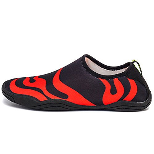 Aqua Multifunctional Quick Women Water COLOV Men Shoes Dry Shoes Drainage Holes Black2 Swim with Lightweight Shoes wx0gxq1