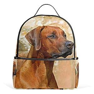 Rhodesian Ridgeback Dog Zaino per donne adolescenti ragazze borsa alla moda borsa per bambini viaggio college casual… 16 spesavip