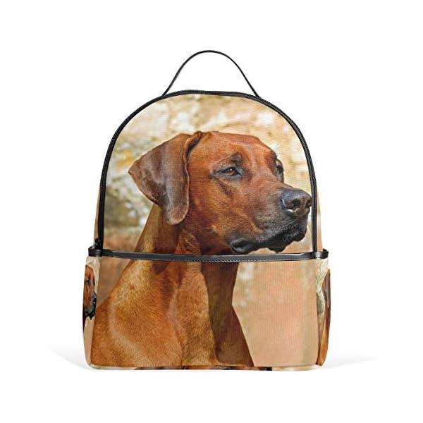 Rhodesian Ridgeback Dog Zaino per donne adolescenti ragazze borsa alla moda borsa per bambini viaggio college casual… 1 spesavip