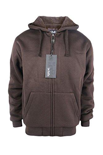 Brown Hooded Fleece - 8