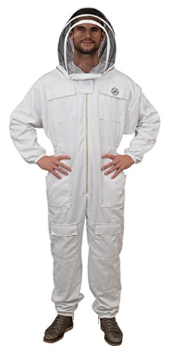 Humble Bee 411-S Polycotton Beekeeping Suit with Fencing ...
