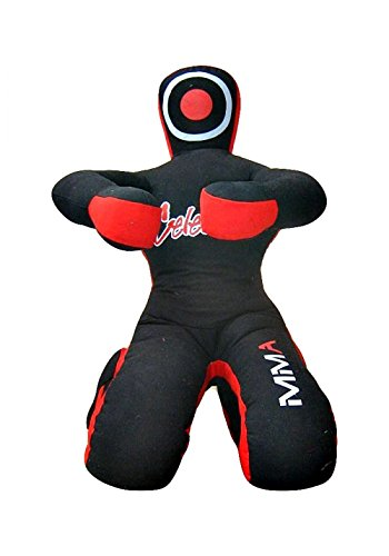 (Celebrita MMA Grappling Dummy - Judo Punching Bag, Unfilled - Sitting Position Hands Front)
