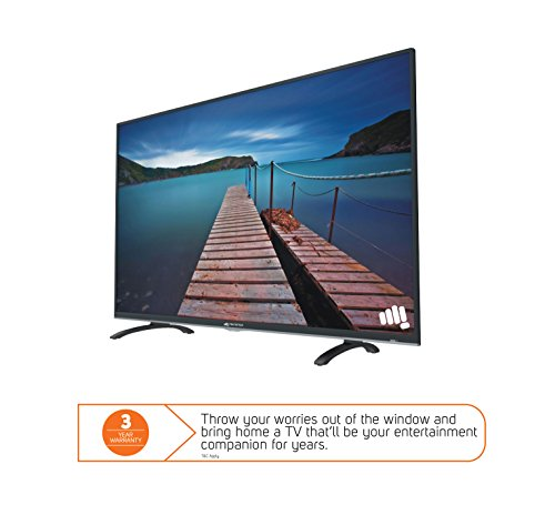 Micromax 101.6 cm (40 inches) Canvas S-40 Full HD LED Smart TV (Black)