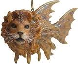 Aquatic Ocean Nautical Lion Fish Swim Ornament
