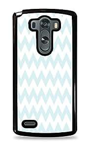 Chic Chevron Pattern Black Hardshell Case for LG G3