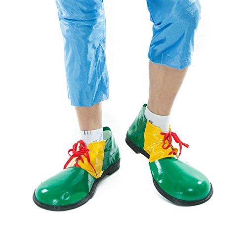 JUIOKK Halloween 1 Pair Adult Clown Shoes Boots Unisex Comedy Fancy Costume Party Events Dress Decoration ()