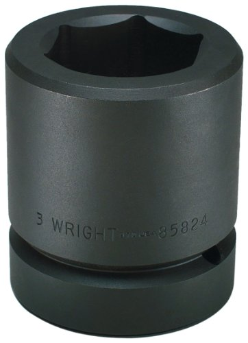 Wright Tool 85844 5-1/2-Inch 6 Point Standard Impact Socket with 2-1/2-Inch Drive