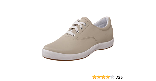 Janey Leather Lace-Up Sneaker