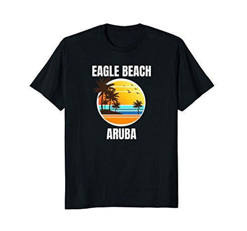 Eagle Beach Aruba Colorful Matching Family Vacation Tee