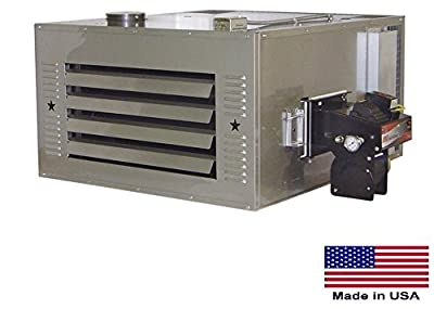 Waste Oil Heater Commercial - 150,000 Btu - Incl Tw Chimney Kit & 80 Gal Tank