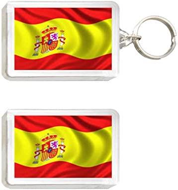 Llavero y Imán Bandera España: Amazon.es: Juguetes y juegos