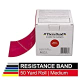 TheraBand Resistance Bands, 50 Yard Roll