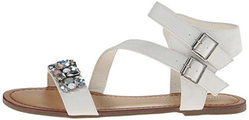887865285076 - Madden Girl Women's Kandis Sandal, White/Multi, 8.5 M US carousel main 4