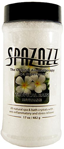 Spazazz 7370C Spa and Bath Crystals, Tropical Rain by Spazazz