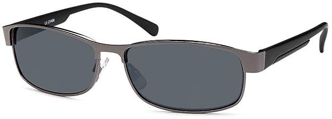 styleBREAKER - Occhiali da sole - Uomo, Grigio (grigio), one size