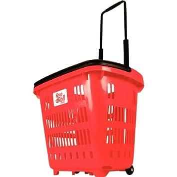 Einkaufskorb Mit Rollen