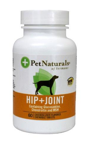 Pet Naturals Hip & Joint Tablets, 60-Count Bottle - Pet Naturals Bottle