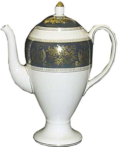 Wedgwood - Columbia R4509 Blue & Gold - Coffee Pot