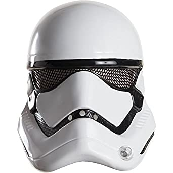 Rubies Costume Co. Inc Adult Star Wars The Force Awakens Stormtrooper 1/2 Helmet Multi One Size Rubies Costume Co (Canada) 32310