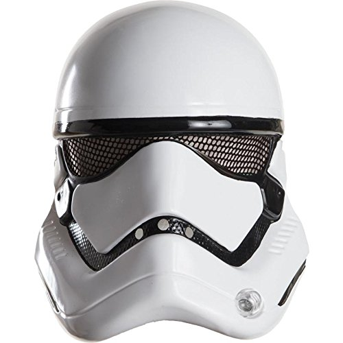 Stormtroopers Outfit (Star Wars: The Force Awakens Adult Stormtrooper Half Helmet, One Size)