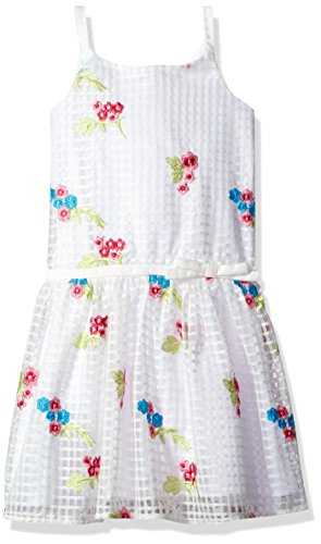 White Angels Embroidered Dress - 4