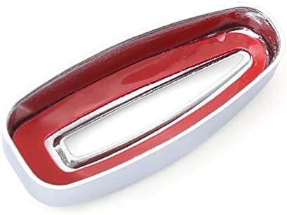 Emblem Trading Lichtschalter Blende Abdeckung Rahmen Chrom Passend F/ür Fiesta Ecosport