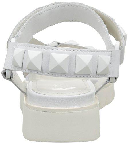Geox Mujer Sandalias C1000 Darline D vestir Blanc D de pxrpYw