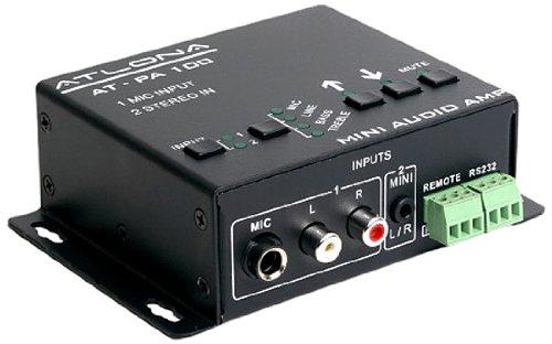 (Atlona Technologies AT-PA100-G2 Stereo/Mono Audio Amplifier)