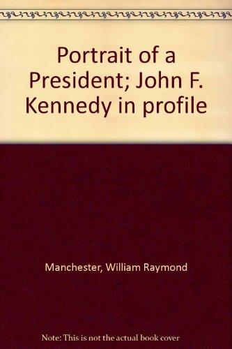 Portrait of a President; John F. Kennedy in profile