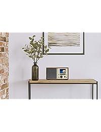 Grace Digital Mondo+ Classic: Radio inalámbrica por Internet con Wi Fi, Bluetooth y cargador inalámbrico Qi integrado para smartphone